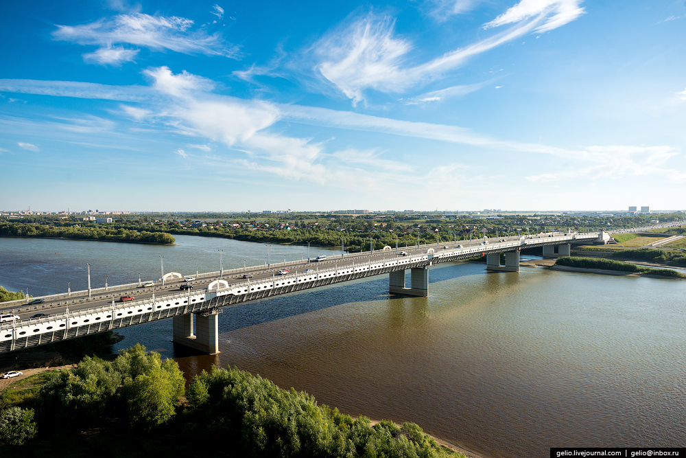 фото мосты омска примета современного
